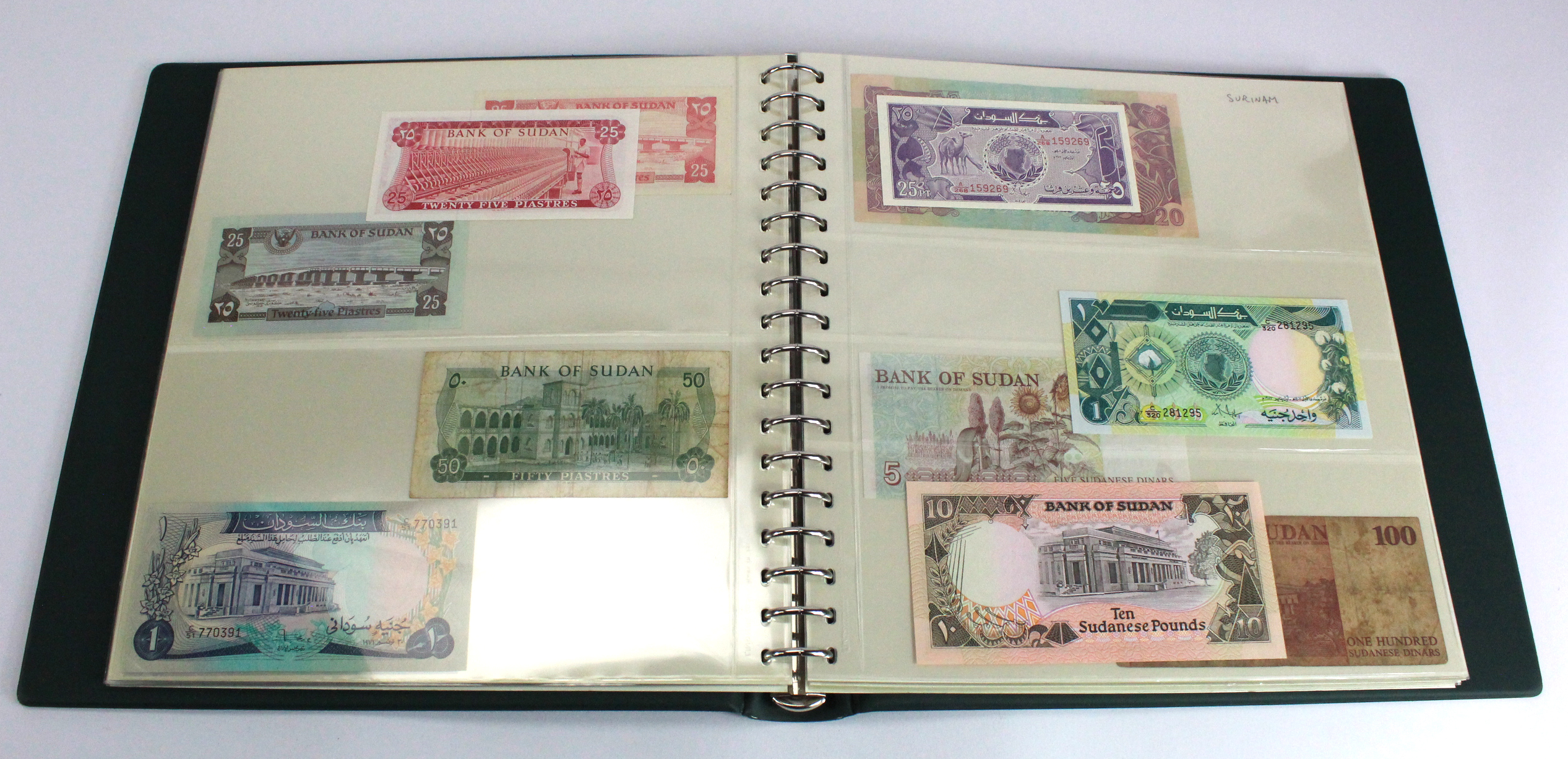 World (200), collection in 2 Lindner albums, countries S, Saint Helena - Syria, some duplication, - Image 5 of 6