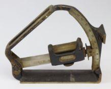 WW1 1915 dated RA gunners clinometer.