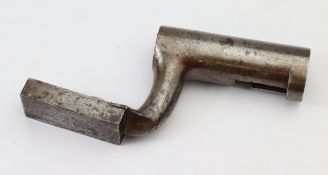 US civil war scarce practice fencing bayonet, would have used a whale bone for the blade with