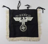 German N.S.K.K trumpet banner.