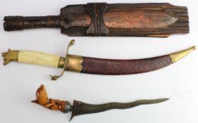 Kris dagger / Knife Spear / east European Knife. (3)