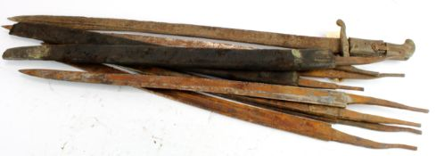 Batch of British Bayonet Blades etc. (qty)