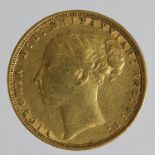 Sovereign 1874 (St George) GF