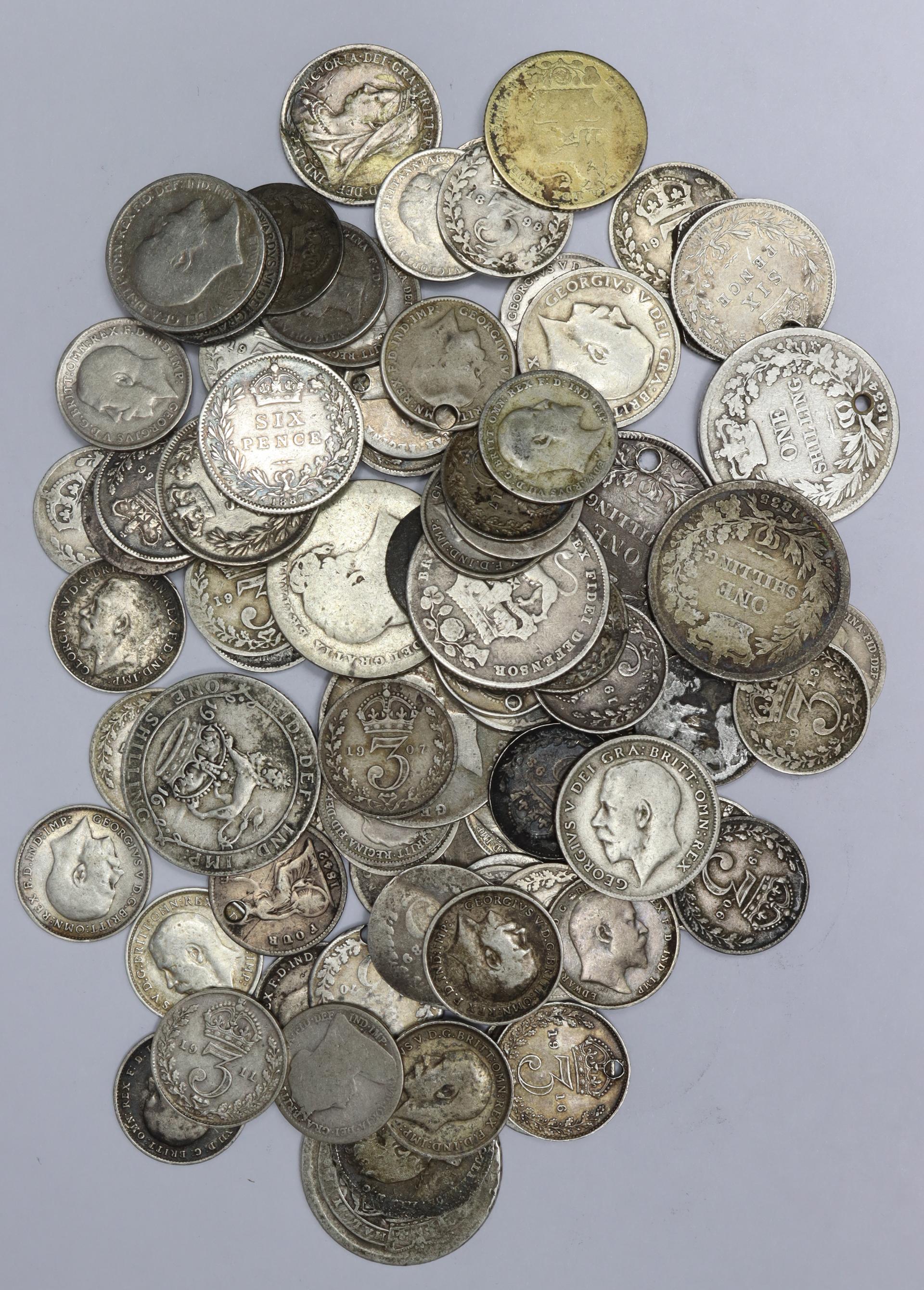 GB Pre-1920 Silver Coins 161.2g