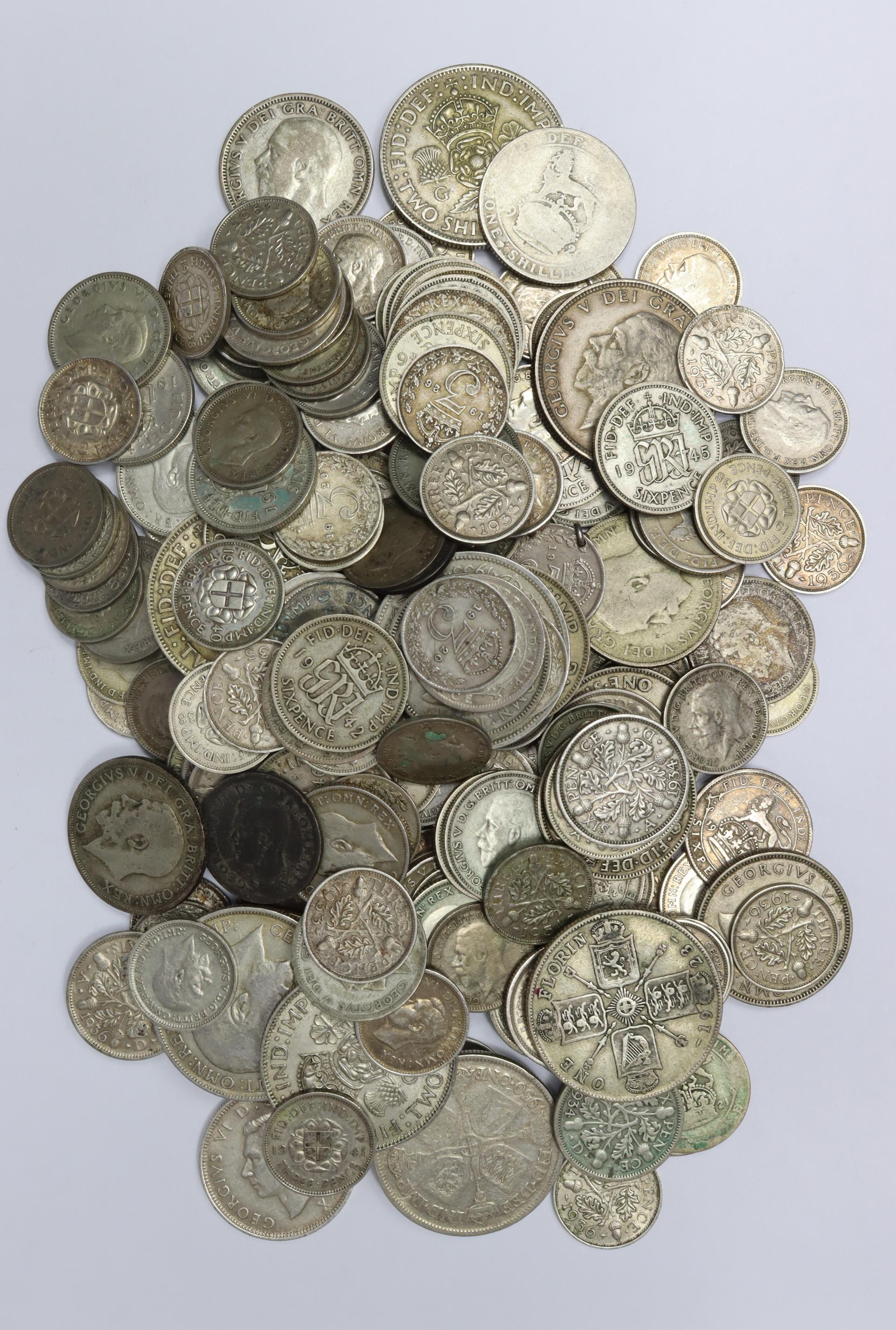 GB Pre-1947 Silver Coins 526.7g