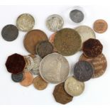 World Coins & Tokens (24) ancient to 20thC, including silver, noted East India Company silver and