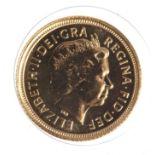 Half Sovereign 2004 BU still sealed