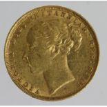 Sovereign 1881m (St George) VF