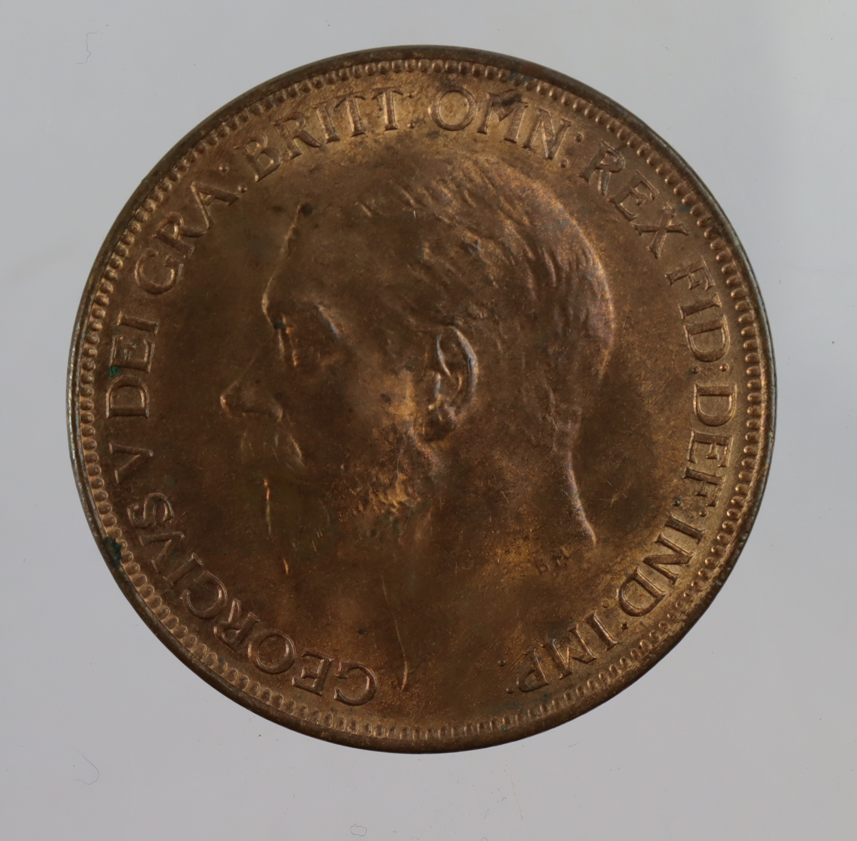 Penny 1927 UNC with lustre.