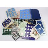 GB & World Sets & Commemoratives; noted Russia USSR/CCCP coin set 1967 in cellophane; various