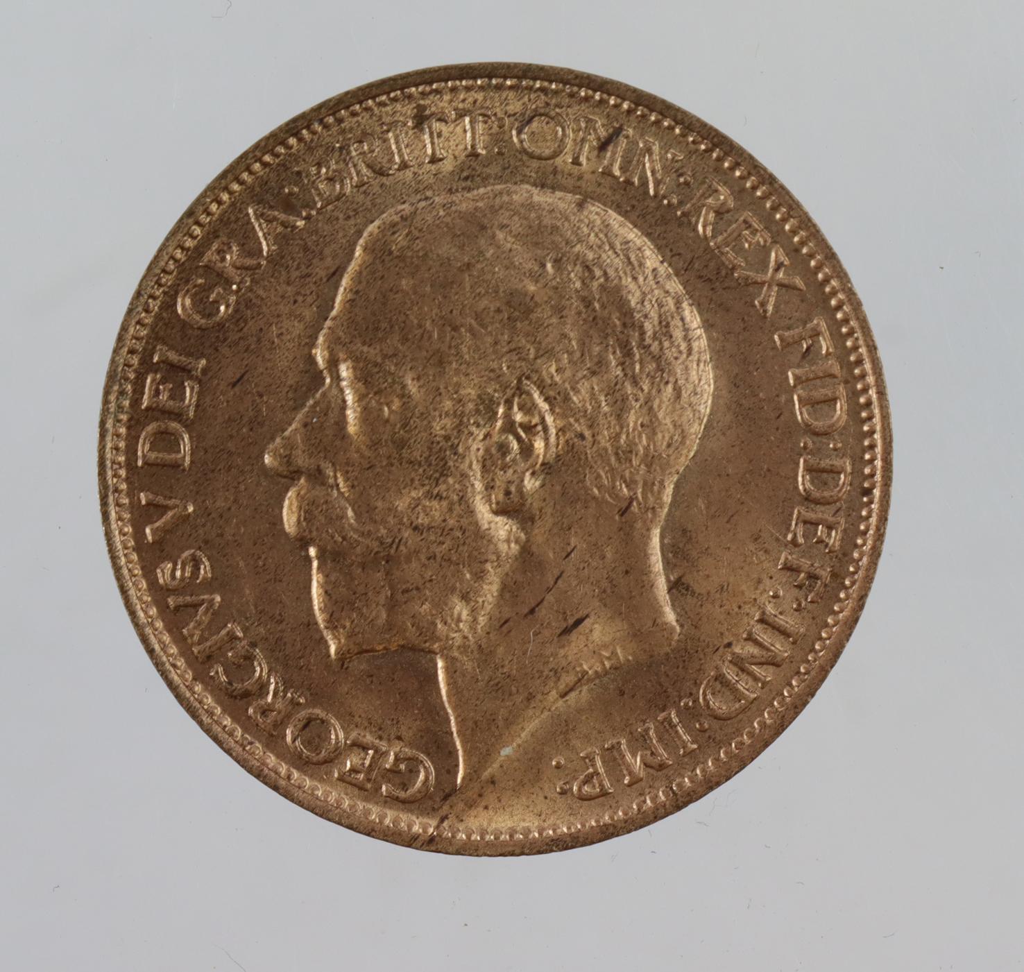 Halfpenny 1911 BU
