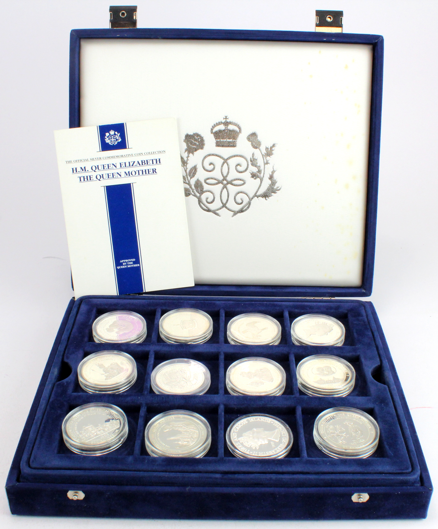 British Commonwealth Silver Proofs (36): H.M. Queen Elizabeth the Queen Mother, The Official