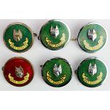Boy Scouts badges (6) comprising Assistant Cub- Master (1) and 5x Cub- Masters