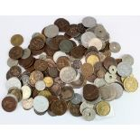 France, 1140g of mixed coinage 18th-20thC, mostly base metal, mixed grade.