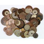 Turkey & Egypt (79) 19th-20thC coinage, mixed grade.