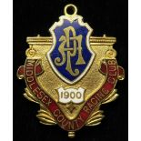 Horse Racing Badge: Middlesex Racing Club (closed course) 1900 Gents.