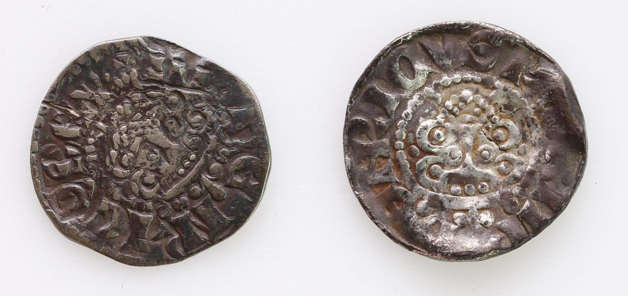 Henry III Long Cross Silver Pennies of Bury St Edmunds (2): Class 5b2, moneyer Randulf, S.1368A, 1.