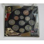 """GB Mint Set 2009 """"Kew Gardens"""" BU as issued (Still sealed)"""