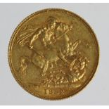 Sovereign 1882s (St George) VF