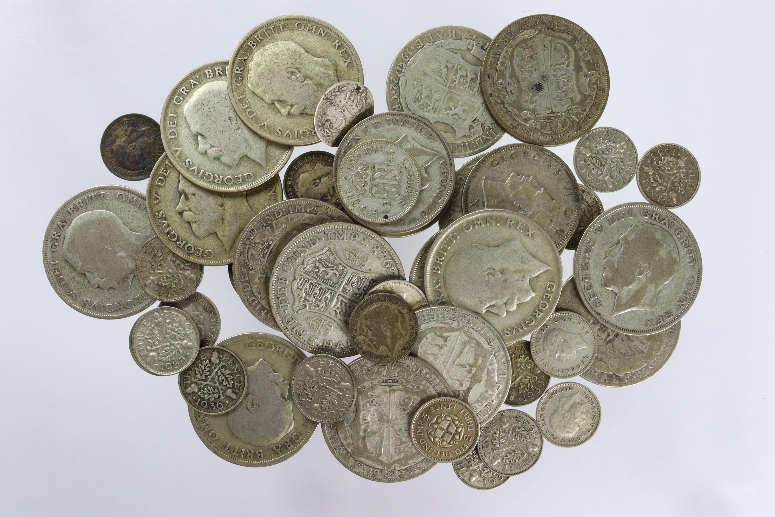 GB Pre-1947 Silver Coins 294.6g