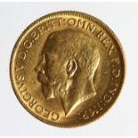 Sovereign 1911M, Melbourne Mint, Australia, nEF