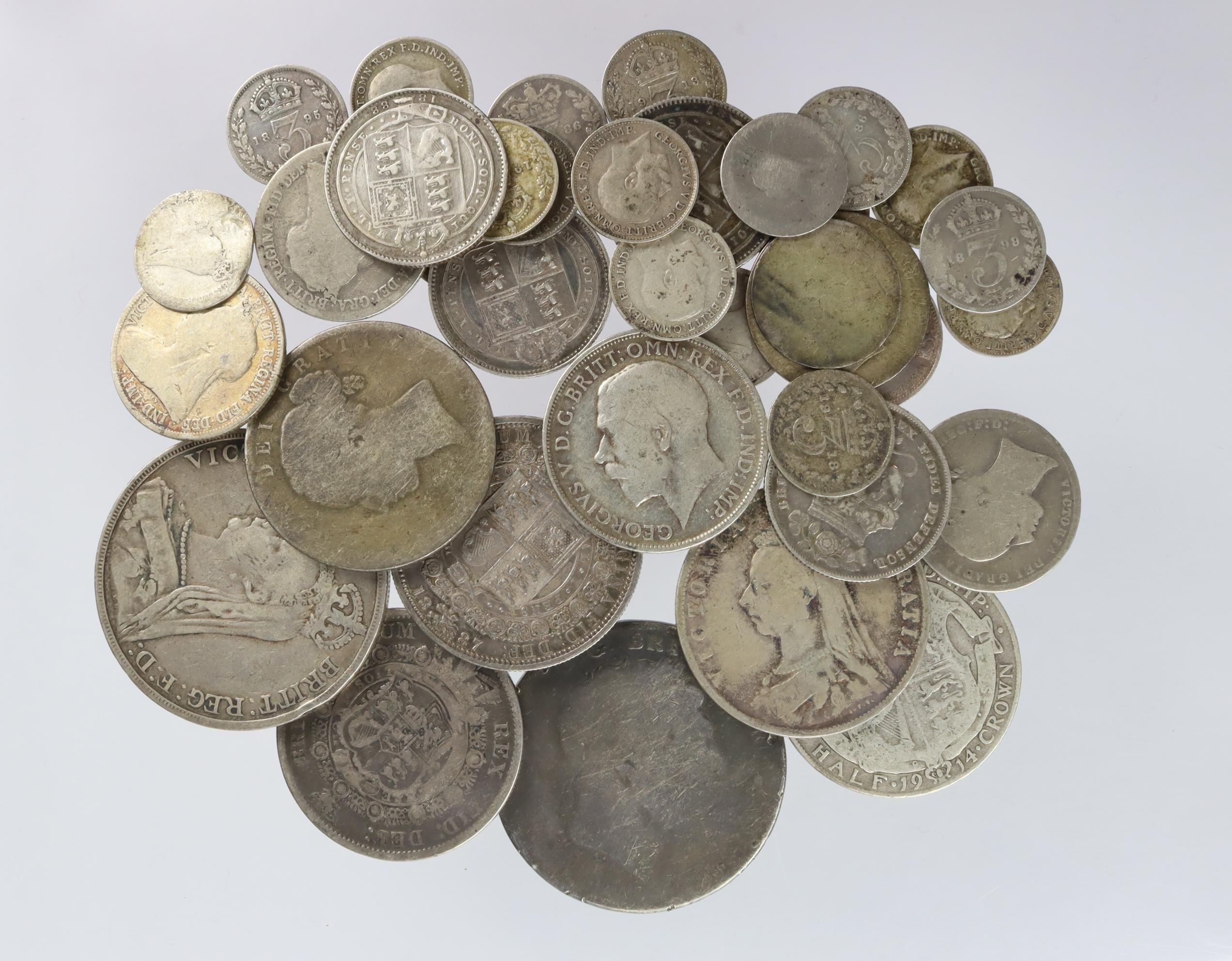 GB Pre-1920 Silver Coins 207.9g