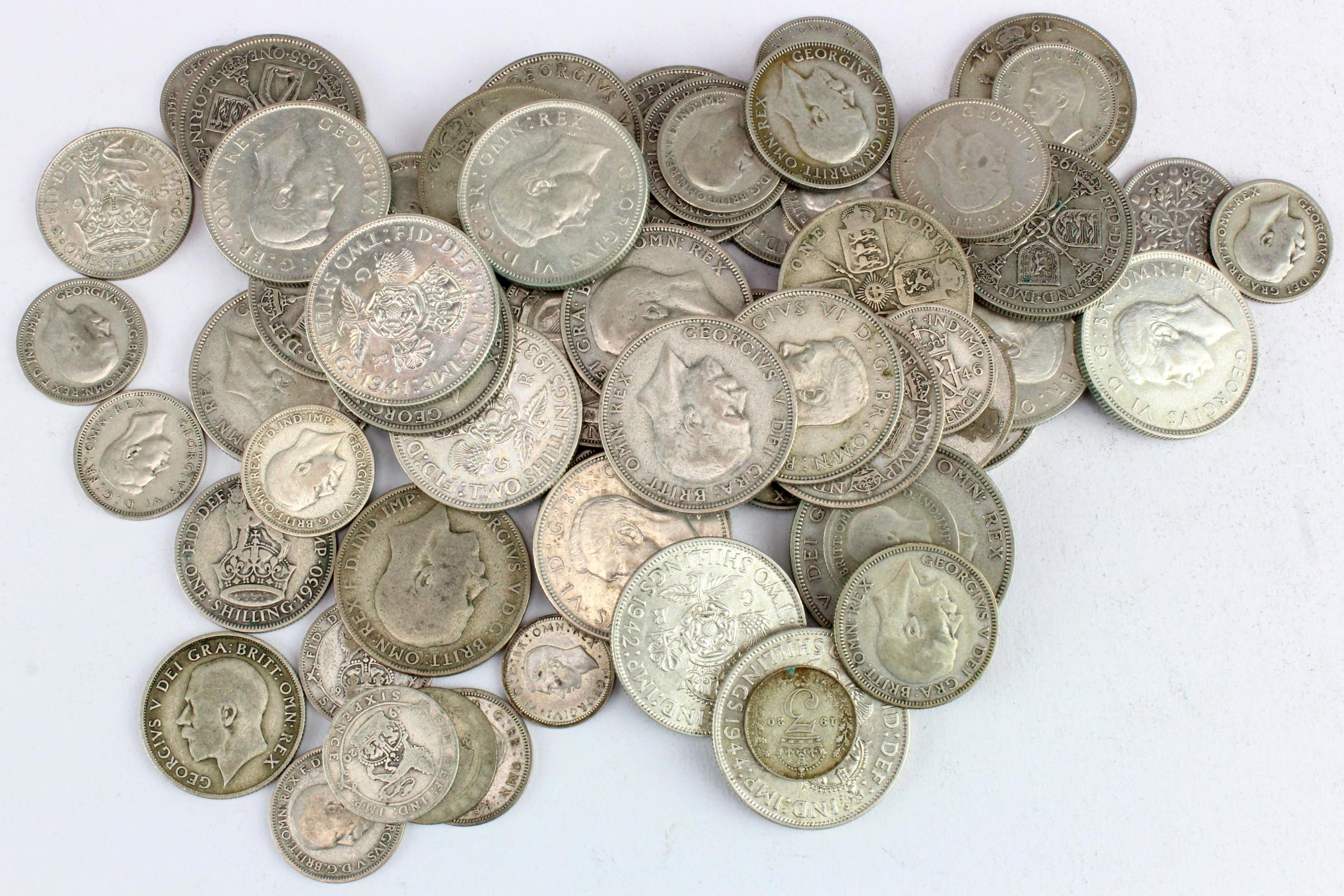 GB Pre-1947 Silver Coins 473.7g