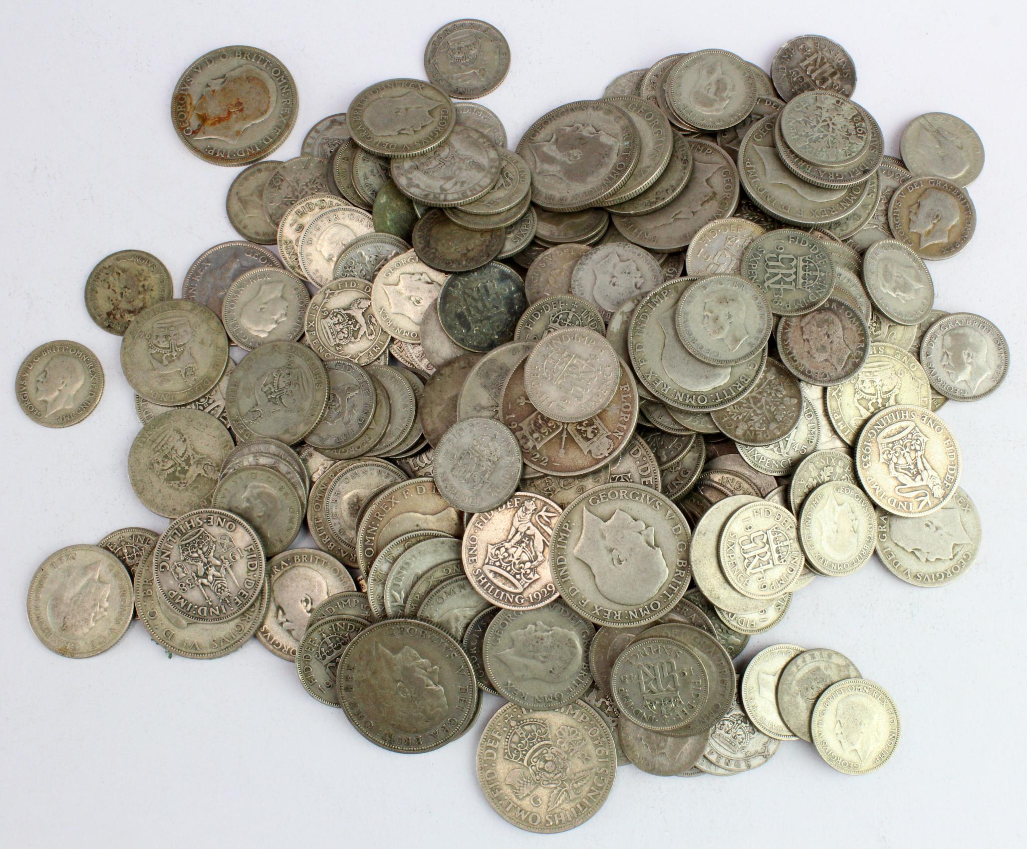 GB Pre-1947 Silver Coins 970.5g