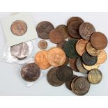 GB Bronze (32) 19th-20thC, from a Third Farthing 1902 to Pennies; Victorian to QEII, mixed grade