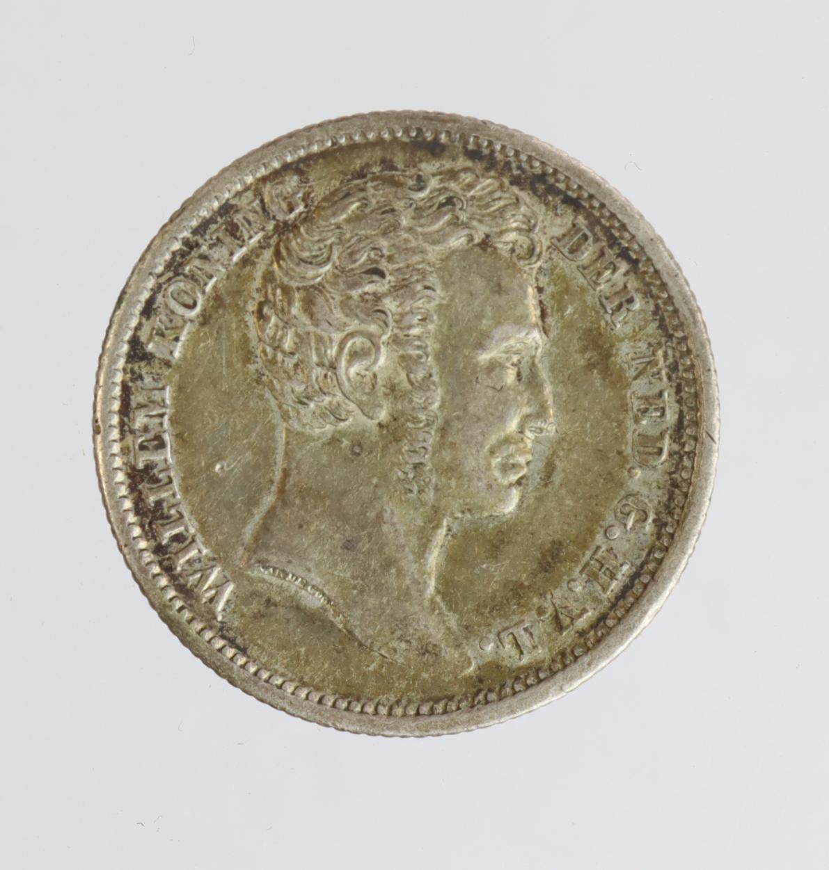 Netherlands East Indies 1/4 Gulden 1834 VF-GVF