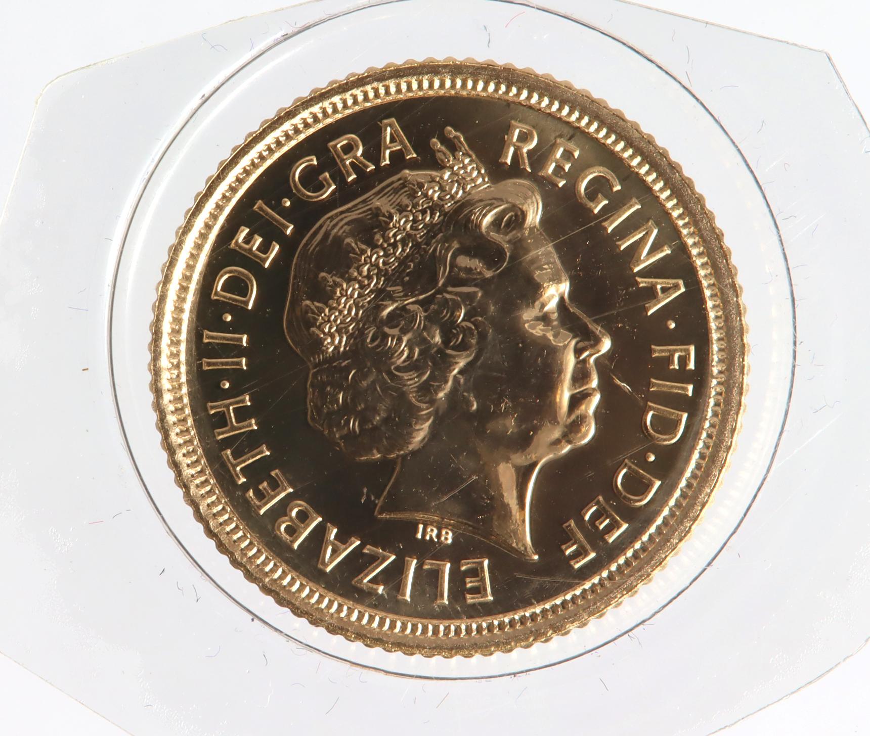 Half Sovereign 2003 BU still sealed