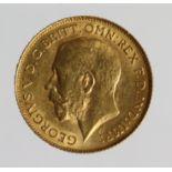 Half Sovereign 1925SA, Pretoria Mint, South Africa, EF
