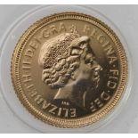 Half Sovereign 2002 (Shield back) BU still sealed