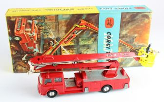 Corgi Major Toys, no. 1127 'Simon Snorkel Fire Engine', with instructions, contained in original