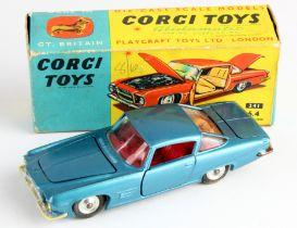 Corgi Toys, no. 241 'Ghia L.6.4' (blue), contained in original box