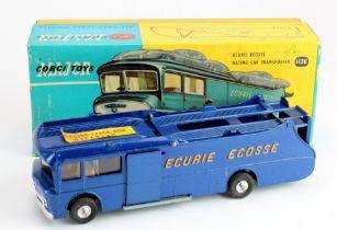 Corgi Major Toy, no. 1126 'Ecurie Ecosse Racing Car Transporter, contained in original box