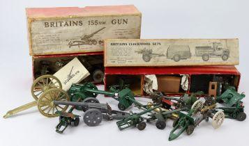 Britains. Two boxed diecast Britains models, comprising Britains clockwork sets (no. 2048,