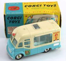 Corgi Toys, no. 428 'Smiths Mister Softee Ice Cream Van', contained in original box