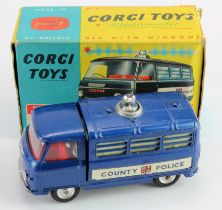 Corgi Toys, no. 464 'Commer Police Van', with cardboard insert & instructions, contained in original
