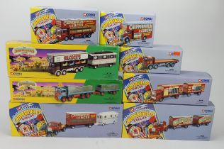 Corgi Classics. Eight boxed models, comprising Chipperfields nos. 97915, 97889, 97896, 97092,