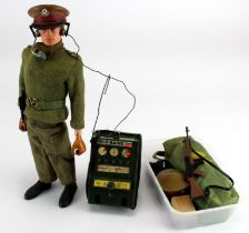 Action Man Field Commander (and Field Radio), by Palitoy, contained in original box, sold as seen