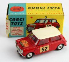 Corgi Toys, no. 317 'Monte-Carlo B.M.C. Mini Cooper S', contained in original box