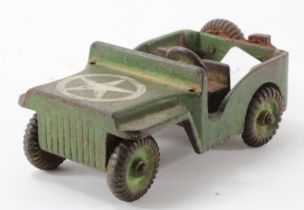 Cast iron Willies jeep by Victory Toys Alhago Ltd, Holland, makers marks to base, height 6cm,