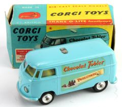 Corgi Toys, no. 441 'Volkswagen Toblerone Van', contained in original box (one end flap missing)