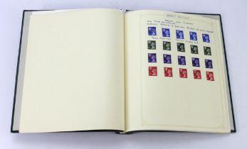 GB - green binder of Machin Regionals um, m and used, many identified