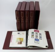 The Olympic Masterfile collection of stamp sets, m/sheets, and covers in 5x special albums. Main