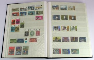 GB - collection in black s/book c1965-1991 Commems, complete unmounted mint as far as we can tell.