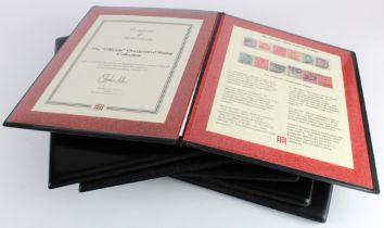 GB - EDVII & GV material in special Westminster Folders. inc 1902 Jubilee set used, 1913 trial