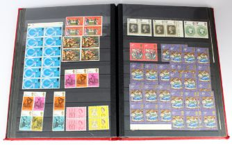GB - KGVI and QE2 pre decimals in blocks and singles, some cylinder blocks noted, m & um. Used HV