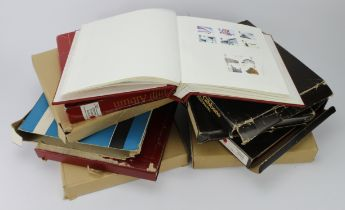 GB - collection housed in 9x albums, 7 of which are QE2 1953 to 2012. All are a mixture of mint